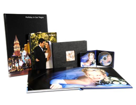 تولید و صحافی آلبوم عکس های یک رو چاپ