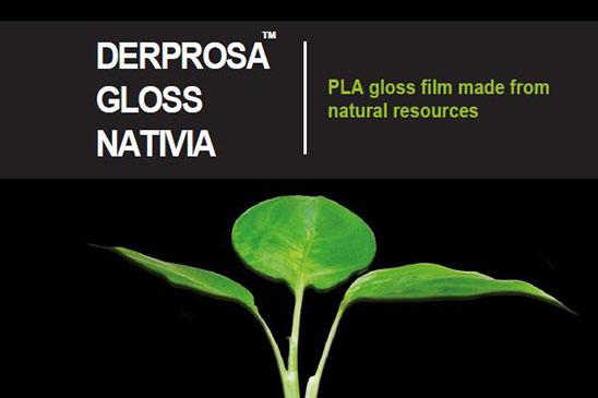 سلفون حرارتی براق قابل بازیافت درپروسا DERPROSA GLOSS NATIVIA
