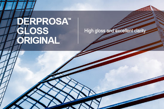 سلفون حرارتی براق درپروسا DERPROSA GLOSS ORIGINAL
