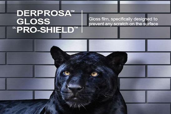 سلفون حرارتی براق ضد خش پروشیلد با مقاومت بسیار بالا درپروسا DERPROSA GLOSS PRO-SHIELD