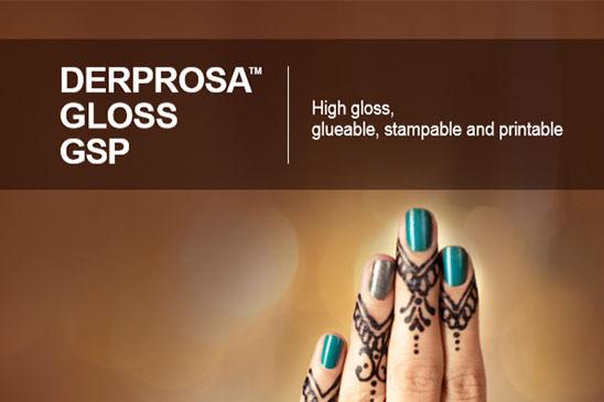 سلفون حرارتی براق قابل چسب زنی، چاپ و طلاکوب درپروسا DERPROSA GLOSS GSP