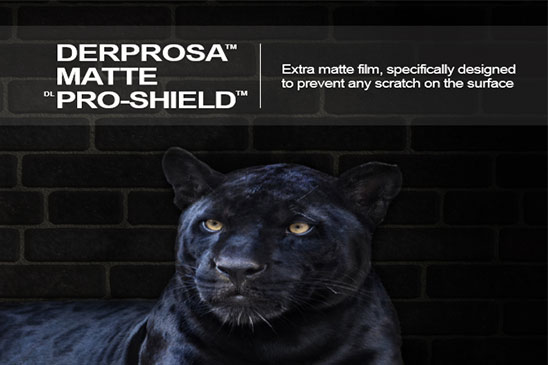 سلفون حرارتی مات ضد خش پروشیلد با مقاومت بسیار بالا درپروسا DERPROSA MATTE PRO_SHIELD