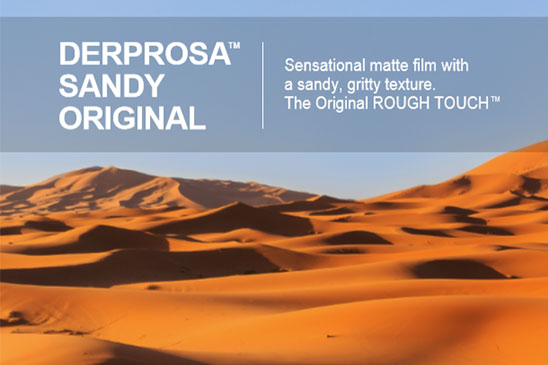 فیلم سلفون شنی Derprosa Sandy Original