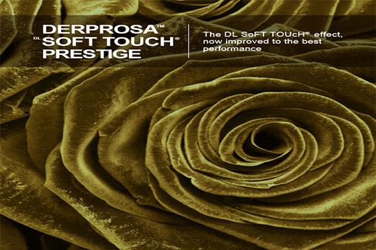 سلفون مخملی مخصوص عملیات تکمیلی UV و طلاکوب درپروسا DERPROSA SOFT TOUCH PRESTIGE