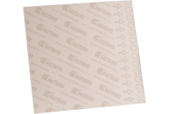 کاغذ پشت چسب دار فستبایند Fastbind FM End Sheet