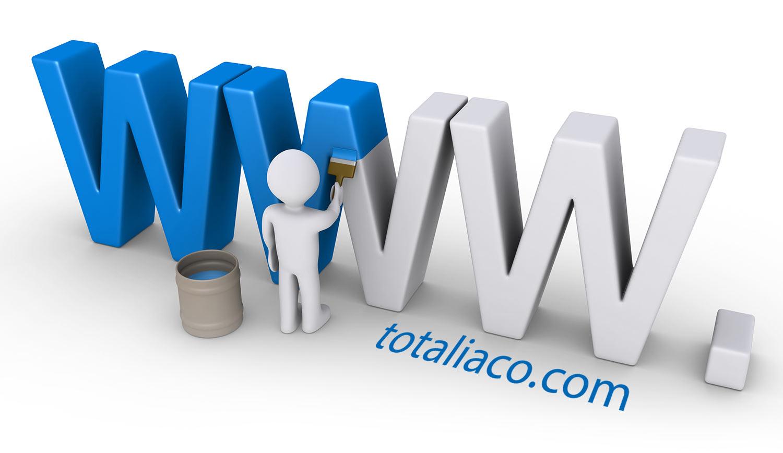 طراحی جدید سایت توتالیا