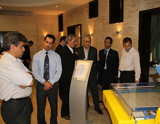 نمایشگاه اختصاصی چاپ و صحافی توتالیا سال ۱۳۸۹ هتل اوین