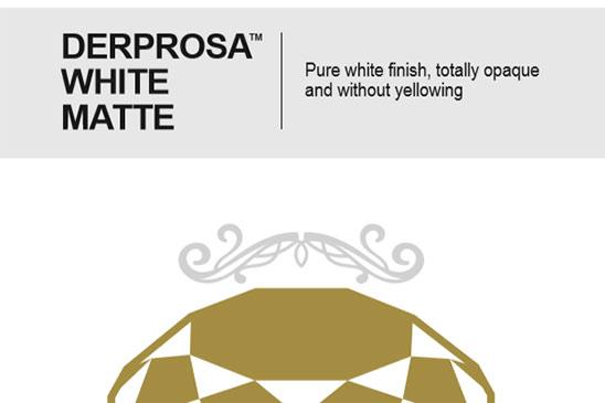 فیلم سلفون سفید مات Derprosa White Matte