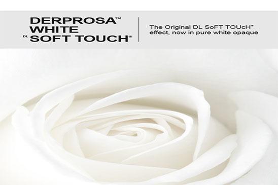 فیلم سلفون مخملی سفید Derprosa White Soft Touch