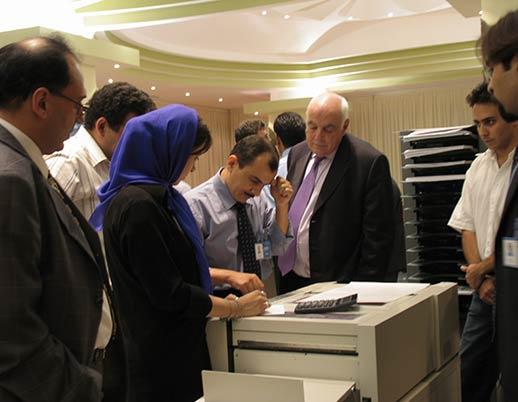 نمایشگاه اختصاصی چاپ و صحافی توتالیا سال ۱۳۸۳ هتل استقلال