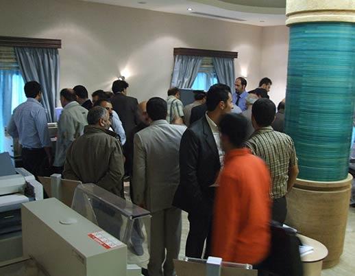 نمایشگاه اختصاصی چاپ و صحافی توتالیا سال ۱۳۸۸ هتل اوین