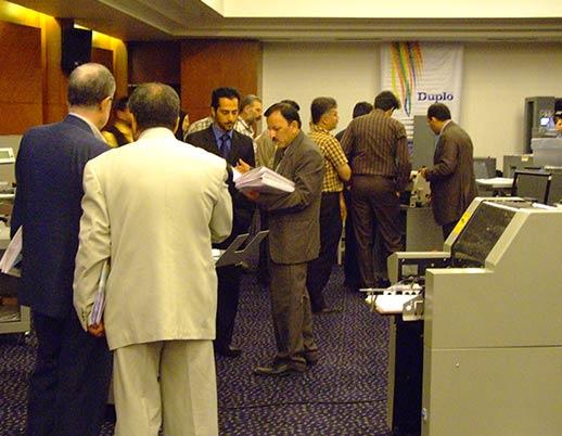 نمایشگاه اختصاصی چاپ و صحافی توتالیا ۱۳۸۷ هتل هما تهران