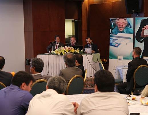 کنفرانس معرفی محصولات جدید دوپلو و جی بی آی چاپ و صحافی توتالیا سال ۱۳۹۰ هتل هما