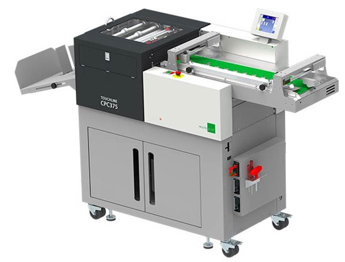 دستگاه خط تا، پرفراژ و برش تمام اتوماتیک Multigraf  CPC375
