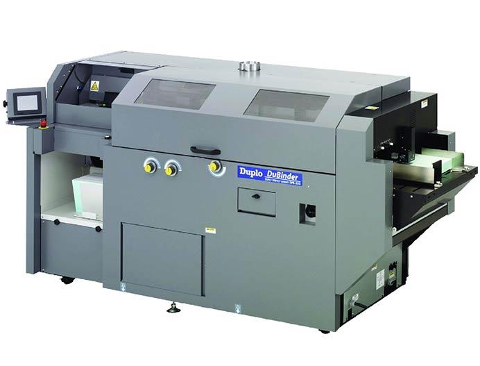 دستگاه صحافی چسب گرم دوپلو Duplo DPB-500