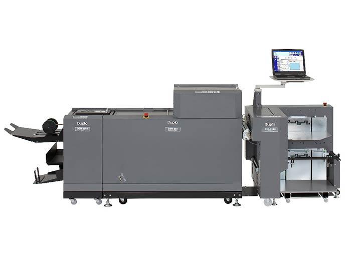 سیستم صحافی مجله دوپلو مدل Duplo 350 Digital Booklet system